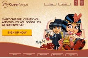 QueenVegas Casino Review